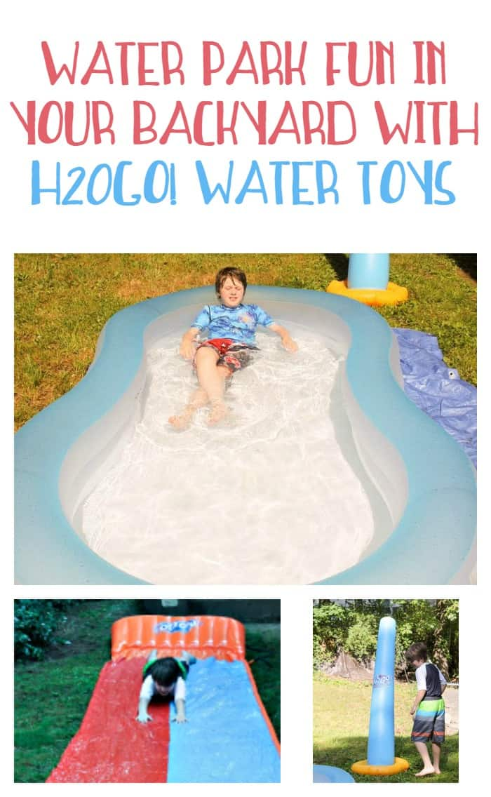 Turn your backyard into your own personal water park with water toys from H20GO!
