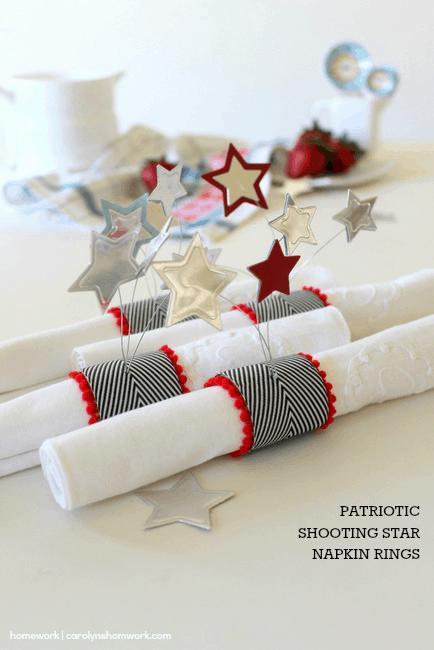 Patriotic Napkin Rings with Stars via homework - carolynshomework (7)[4]