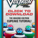 Make These Crazy-Cool Voltron Cupcakes with Your Kids!