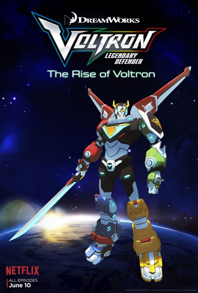 The 80s are hot on Netflix with reboots of some of our favorite childhood cartoons. Next up for the Netflix treatment: Voltron! Check out fun facts, cast lineup and free coloring sheets from Voltron: Legendary Defender!