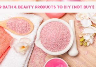 Looking for ways to save money without sacrificing your favorite beauty routines? Start in your bathroom! There are plenty of beauty products that you really don't need to buy. Why? Because making them is super simple. Check out 9 bath & beauty products that you can DIY instead of buy!