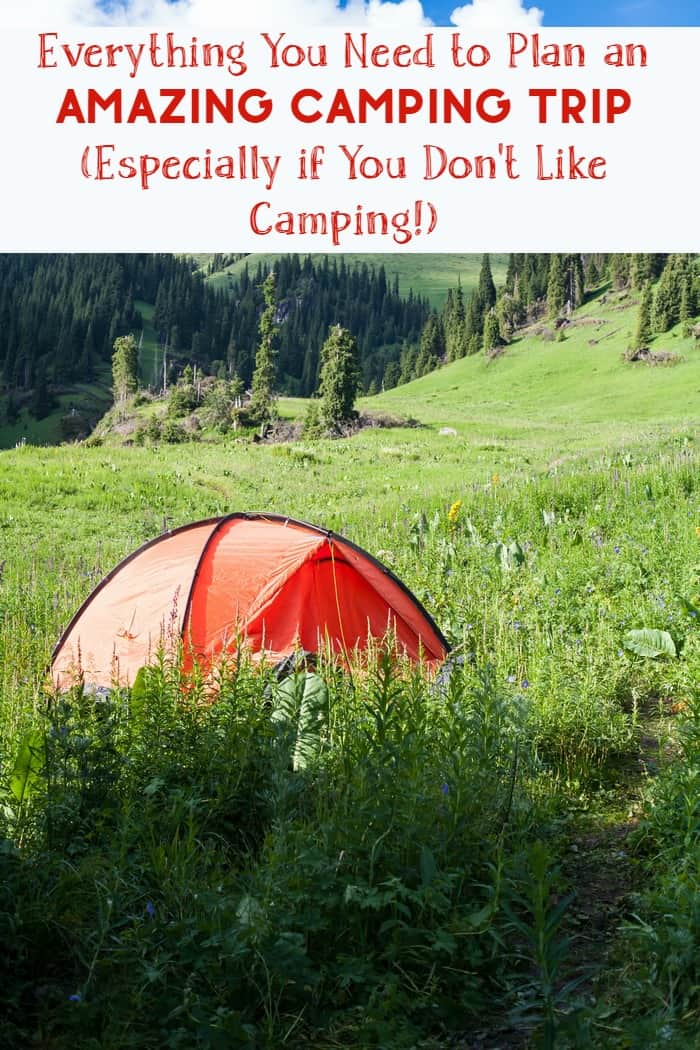 Planning on roughing it during your next family vacation? These are the blog posts you need to be reading to find the best camping tips, tricks and even places to pitch your tent. Plus check out six tents that look like they were made for people like me who really don't love camping (but love the people who do love it)!