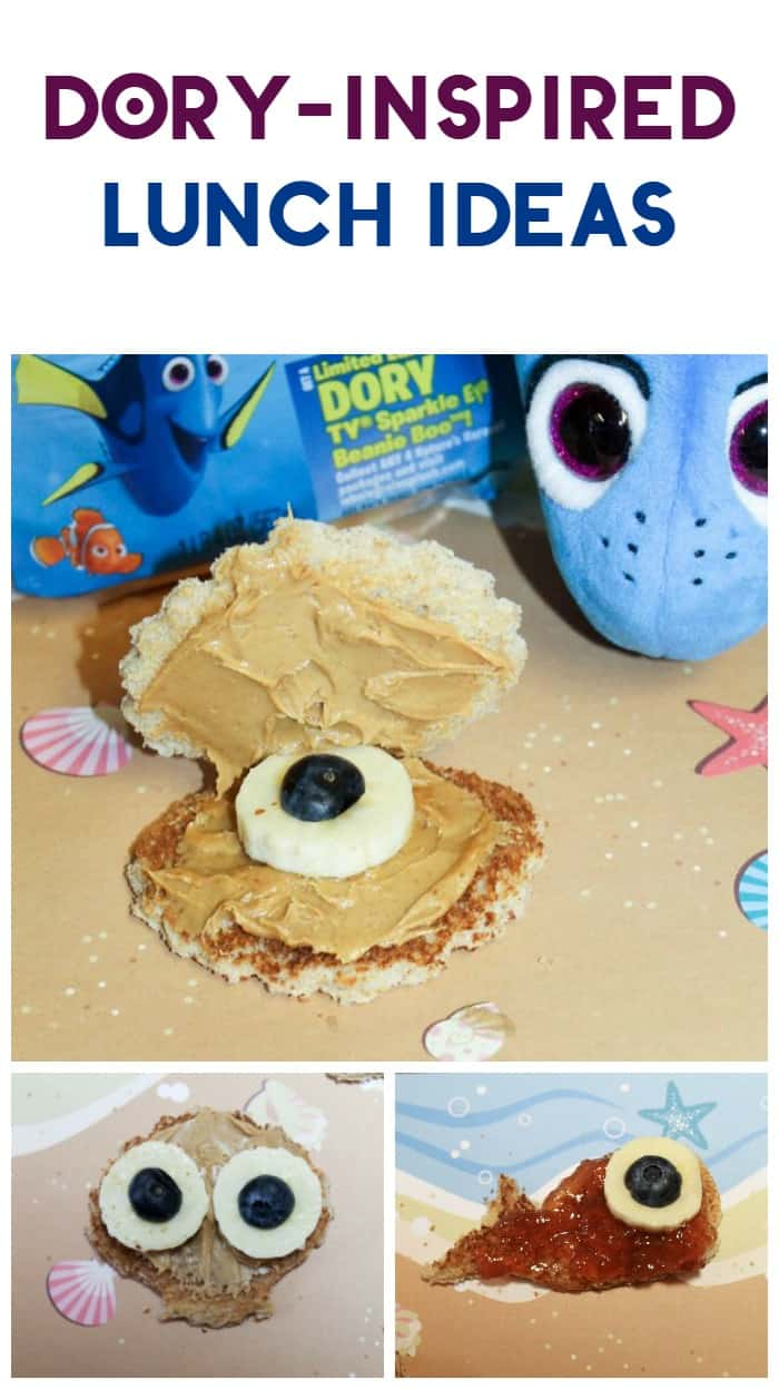Celebrate the release of Finding Dory with fun ocean-themed sandwich recipes that the whole family will love!