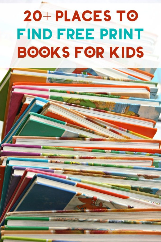 Some families have a hard enough time keeping food on the table, let alone books on the shelves. Fortunately, there are plenty of ways to feed your child's appetite for literacy and without sacrificing your ability to feed your family. Check out 20+ places (besides the library) to find free print books for kids.