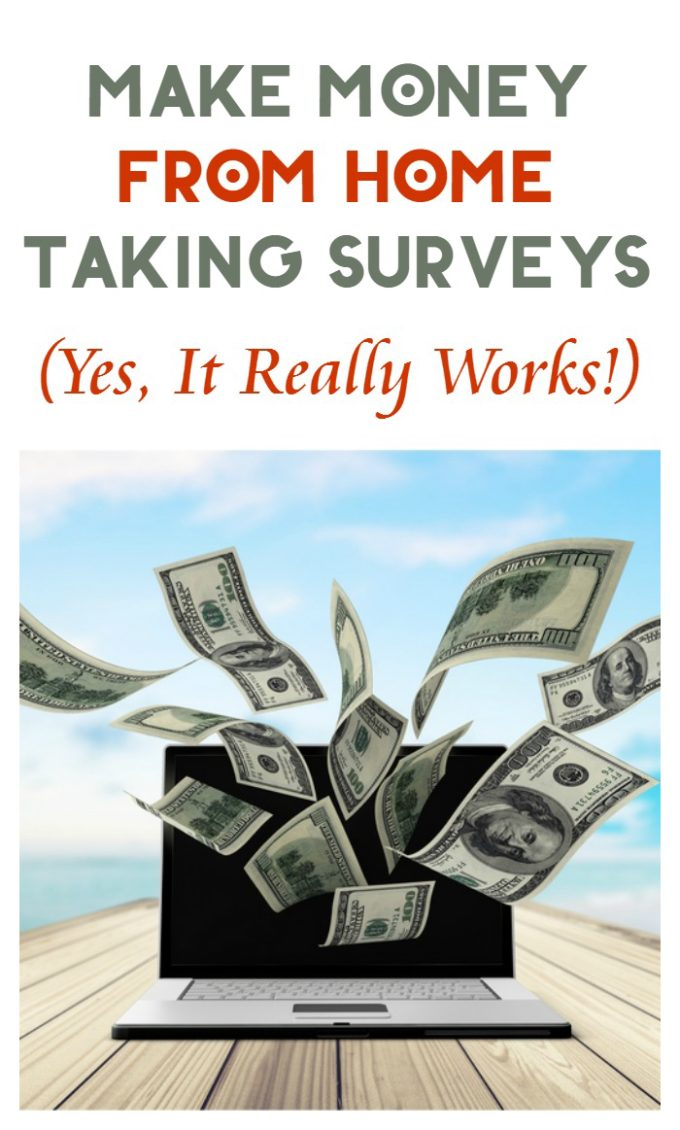 Make money at home taking surveys. It really does work! I paid for all my son's holiday gifts from survey earnings several years in a row. Learn more!