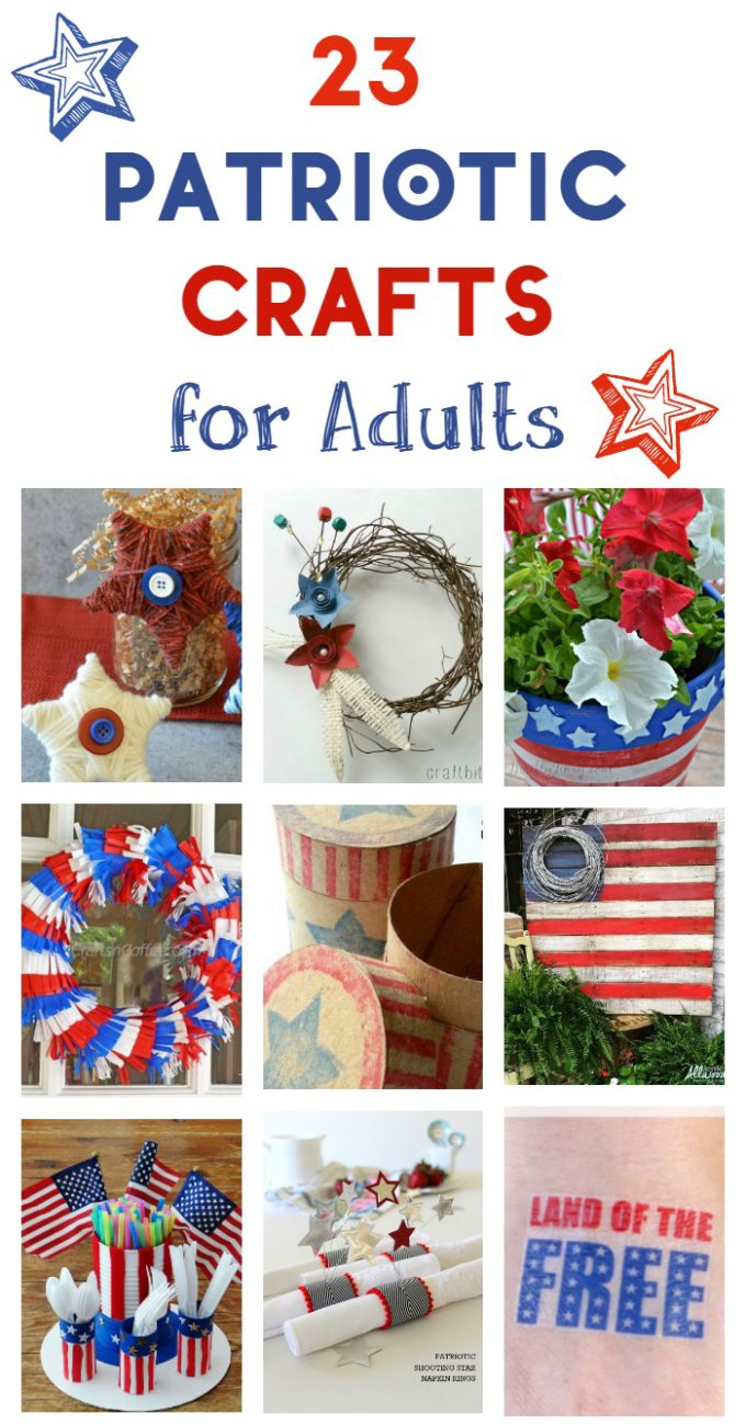 patriotic crafts for adults