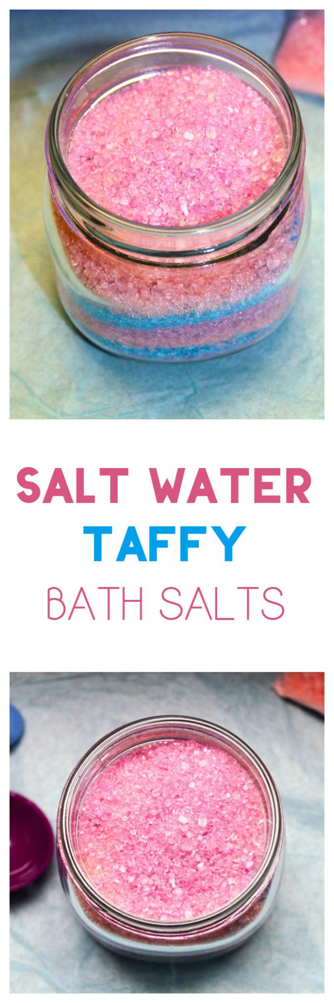 "Orange, Lemon & Vanilla ""Salt Water Taffy"" Bath Salts Recipe"