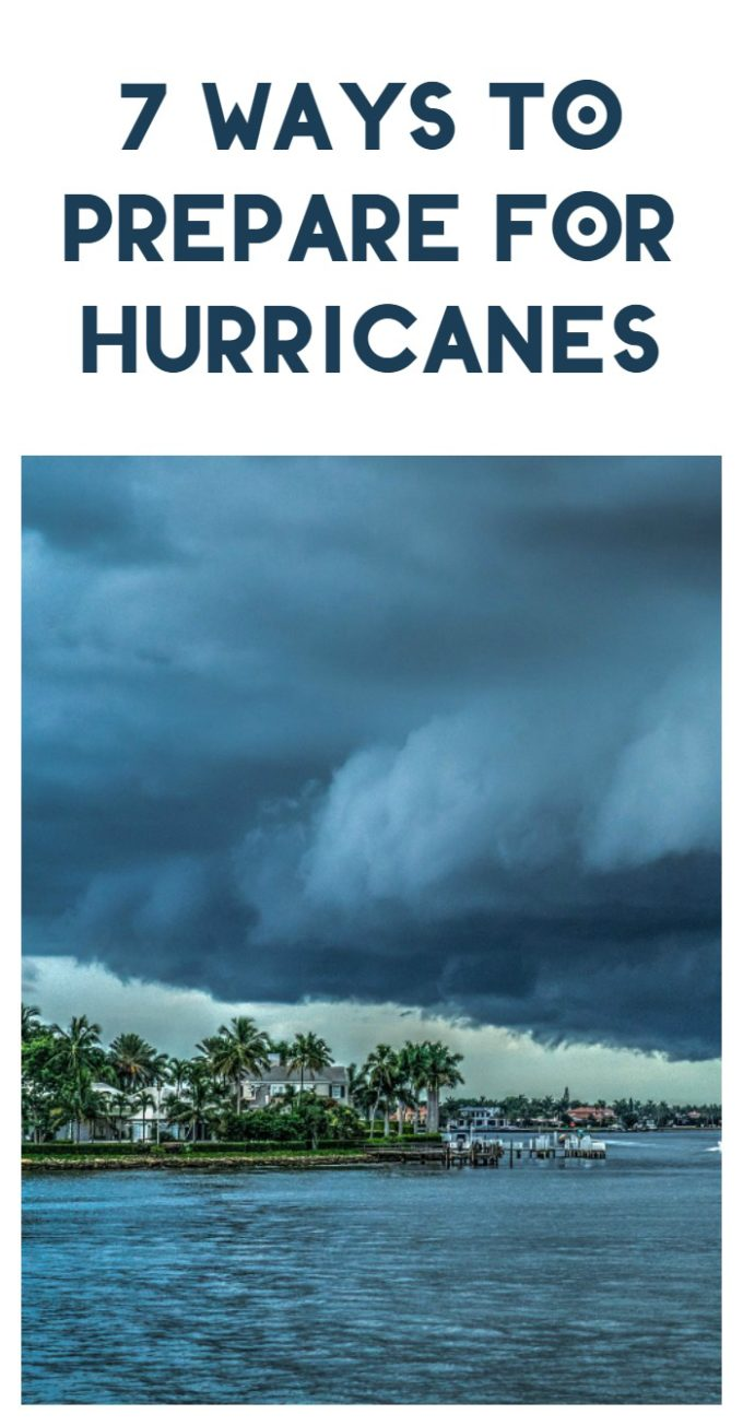 With the heart of hurricane season still on the way, now is the time to prepare for bad weather. Check out 7 things to do to keep your family safe.