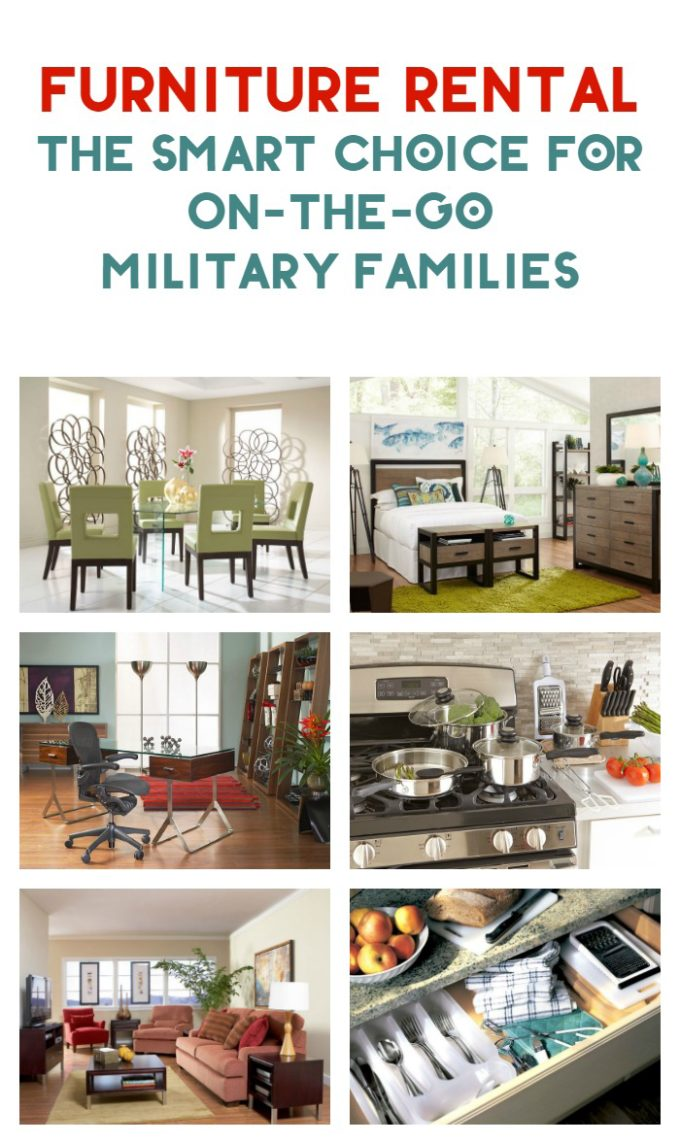 When you're an on-the-go military family, furniture rental just makes more sense. Check out all the benefits of using CORT furniture rental! #ad #CORTforMilitary