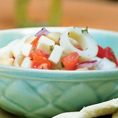 Heart of Palm Radish and Corn Salad (1)