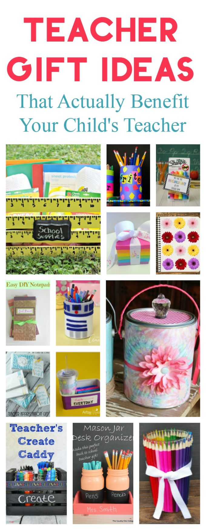 DIY Back to School Teacher Gift Ideas That They'll Actually Use