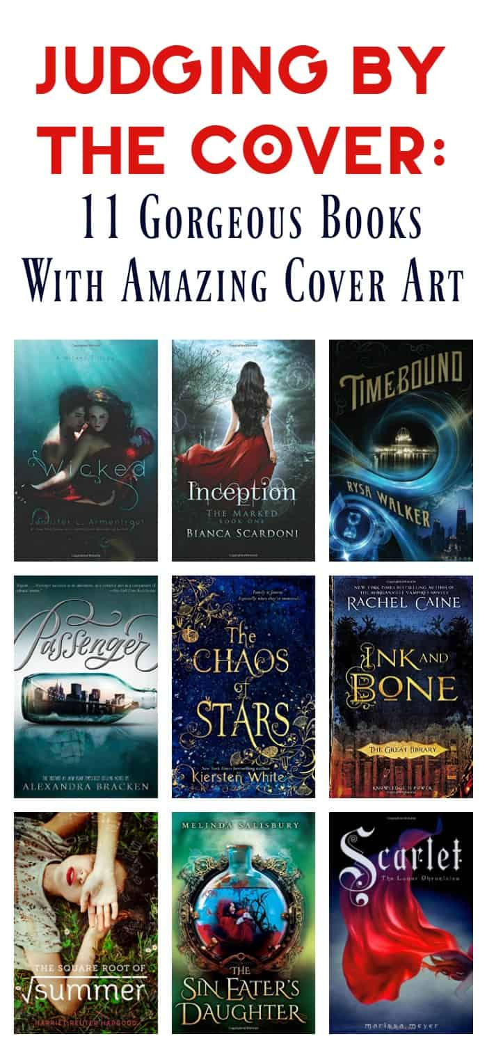 You should never judge a book by its cover, but some covers are so stunning that you can't help but be drawn in! Check out 11 of my favorite gorgeous book covers!