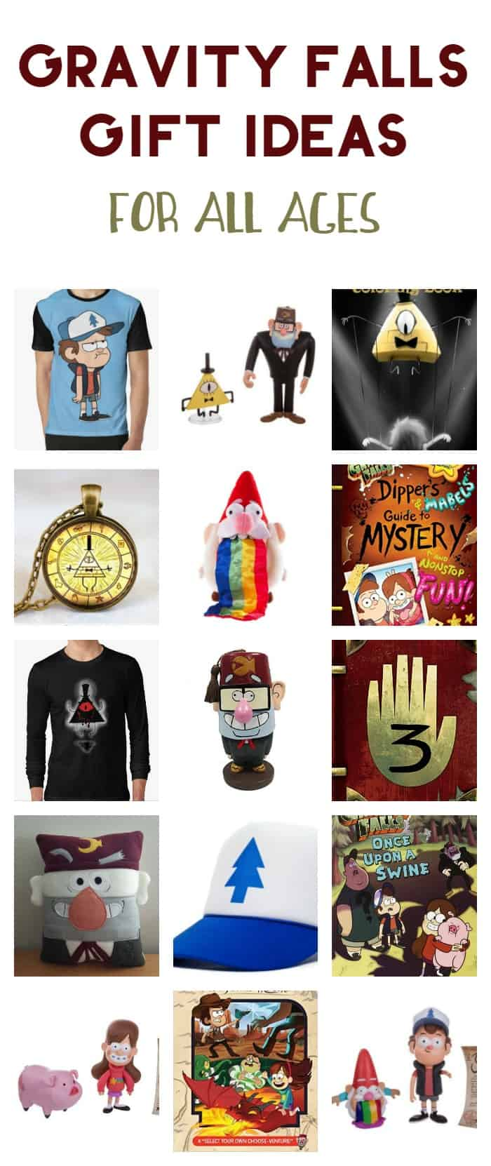Got a kid as obsessed with Gravity Falls as mine is? Check out over 20 awesome Gravity Falls gift ideas for all ages!