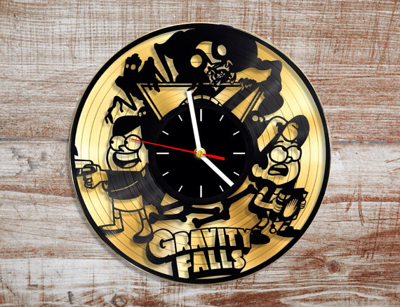 gravity falls record clock