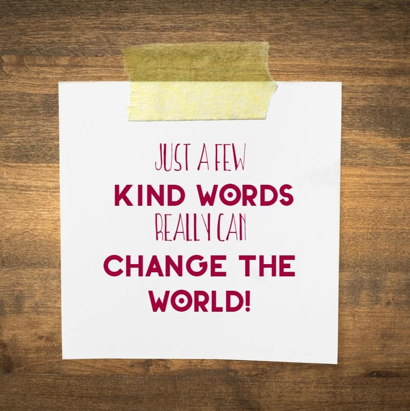 The Mighty Power of Kind Words: Change the World With Your #RefreshingThoughts