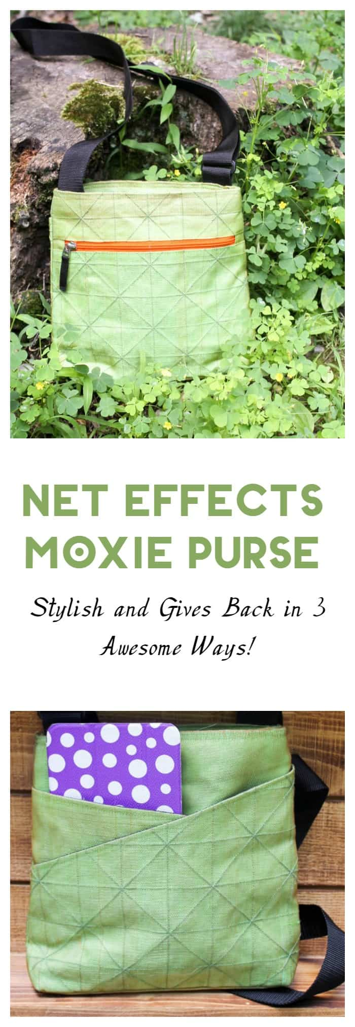 This great bag isn't just stylish and sturdy, it also gives back to Cambodian communities and helps save lives with each purchase! Check out my Net Effects Traders Moxie bag review!