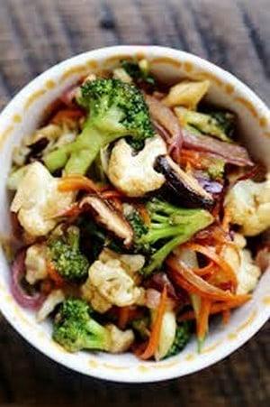 roasted vegetable salad (1)
