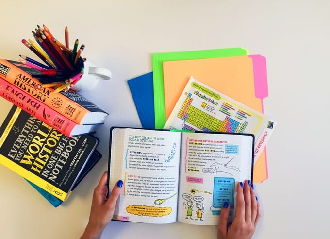 Help Your Middle Schooler Study Like a Pro with Big Fat Notebooks