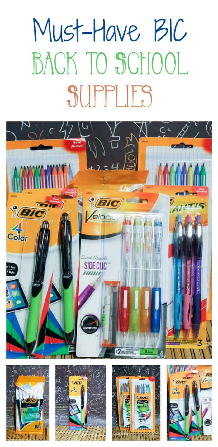 Get ready for back to school season with a fun writing activity with your kids, plus check out all the exciting BIC writing essentials to start the school year right!