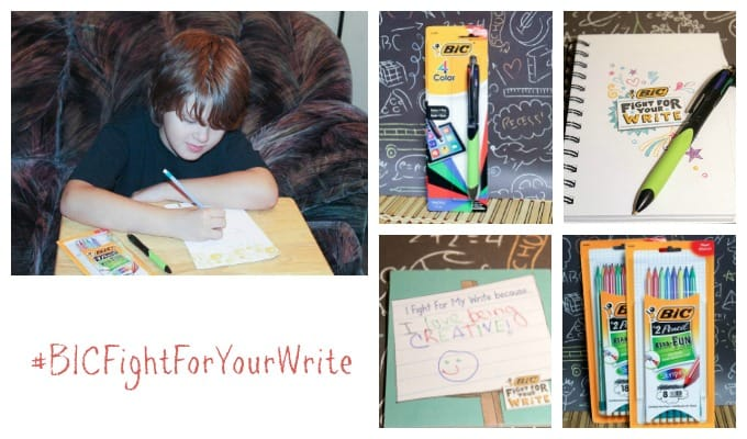 Get Kids Ready for Back to School With a Fun Writing Activity With BIC