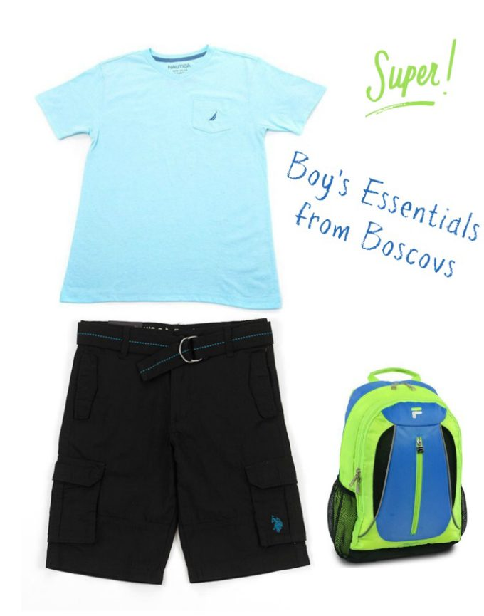 Boscovs in the Lehigh Valley Mall has everything my son needs for back to school!