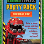 Dinotrux Party Pack button