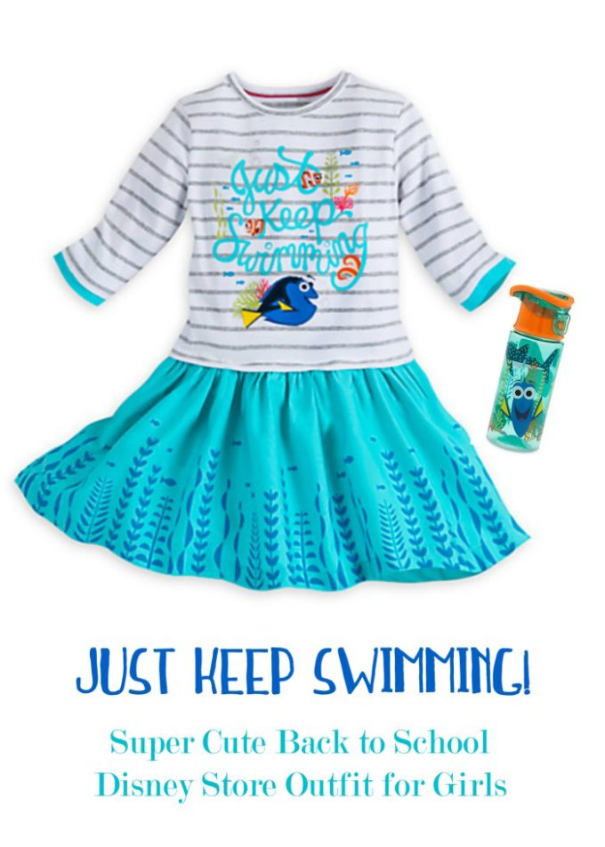 How cute is this outfit from the Disney store in the Lehigh Valley Mall!?
