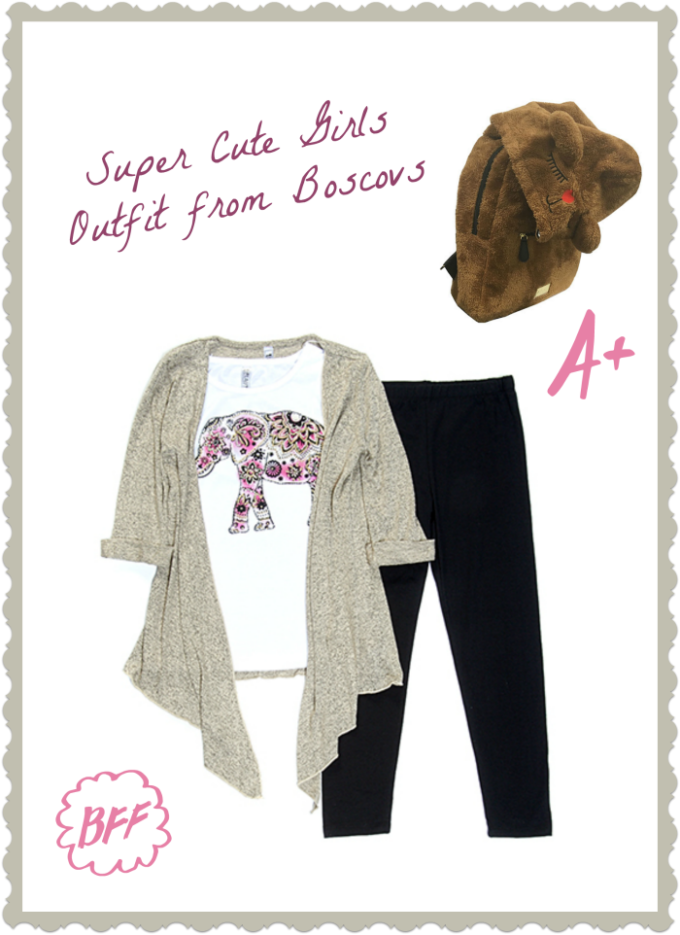 Your little girl will be on point with this darling outfit from Boscovs in the Lehigh Valley Mall!