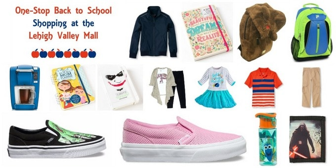 One-Stop Back to School Shopping at Lehigh Valley Mall #BacktoSimon