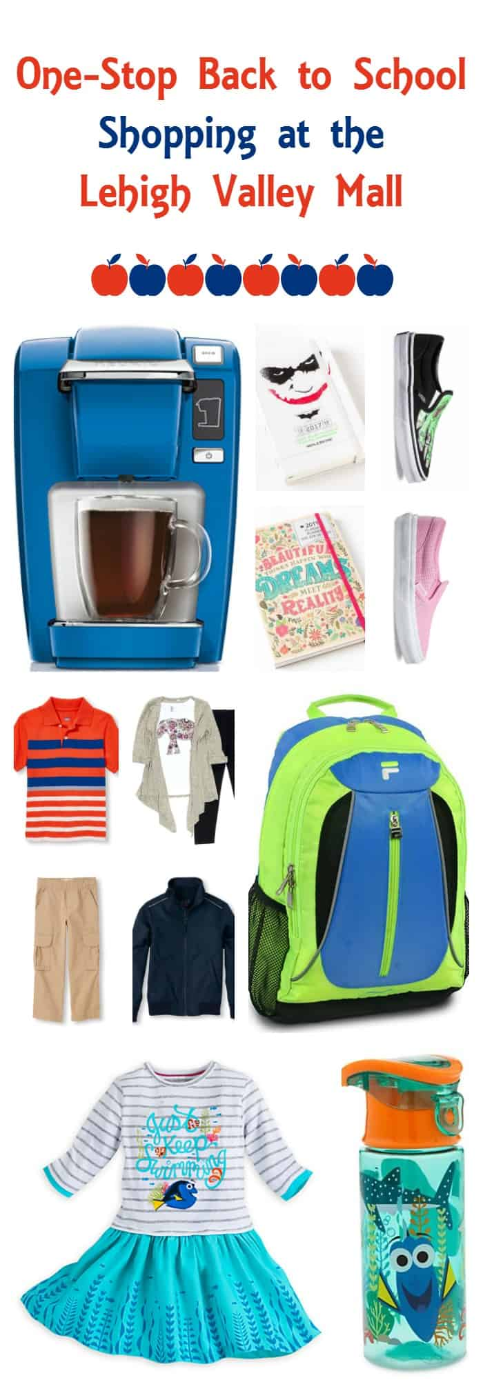 Still haven't finished back to school shopping? Find every last thing you need in one spot at the Lehigh Valley Mall!