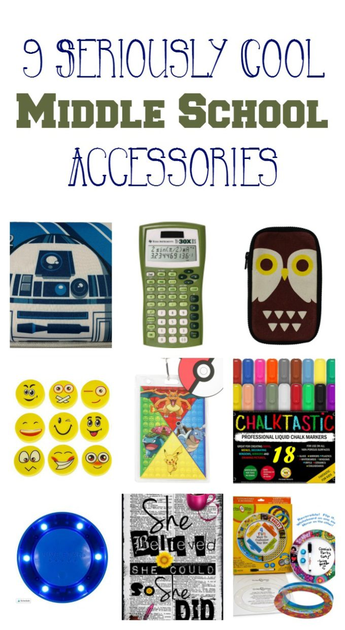 If you've slacked on back to school shopping, no worries! Still time to grab some seriously cool accessories for your middle grader! Check out my favorites.