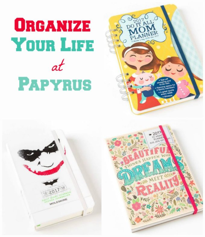 Organize your life with stylish planners for the whole family from Papyrus in the Lehigh Valley Mall!