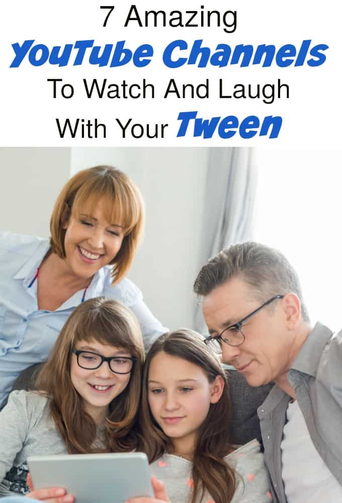 All of these! 7 YouTube channels you should definitely be watching with your tween!