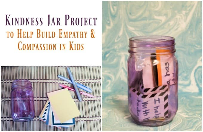 Inspire Compassion & Empathy in Kids by Making a Kindness Jar #RulesofKindness