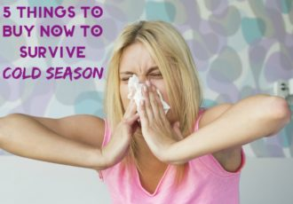 5 Things You Need to Survive Cold Season