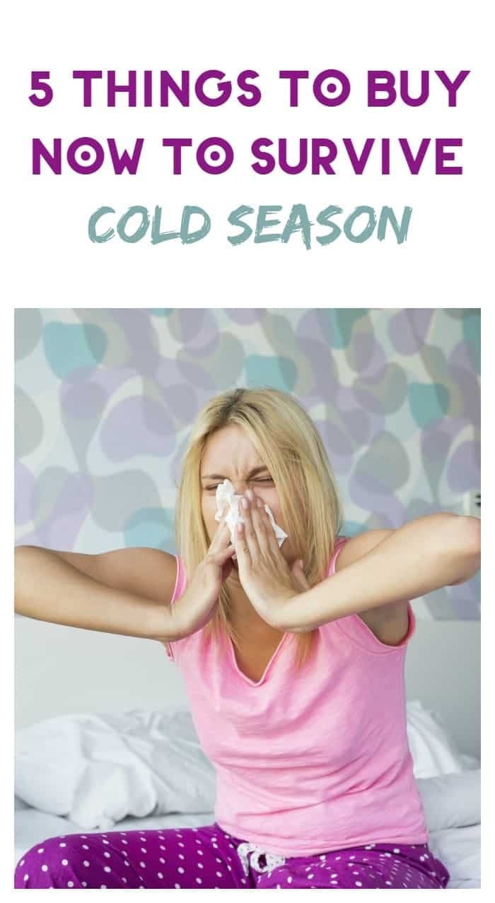 Get ready for cold season before viruses strike! Shop now for these 5 things (aside from meds) that will make you more comfortable!