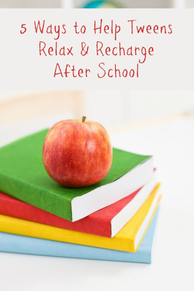 Check out these simple things you can do to help your tween unwind after a long day at middle school!
