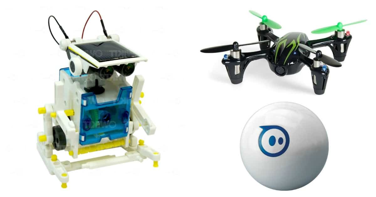 5 Incredibly Cool Tech Gifts For Teens Who Love To Build Robots