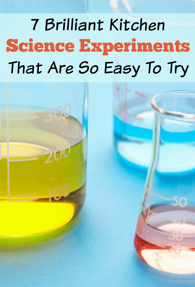 7 Brilliant Kitchen Science Experiments That Are So Easy To Try