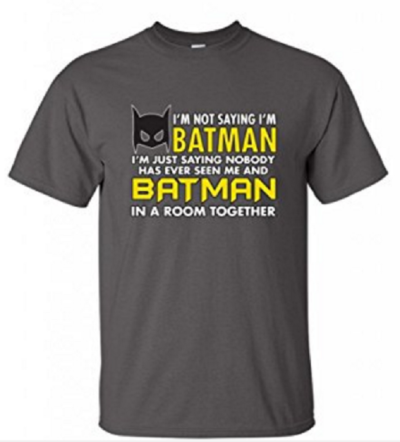 7 Hilariously Geeky T-Shirts That Will Be The Perfect Gift: Batman