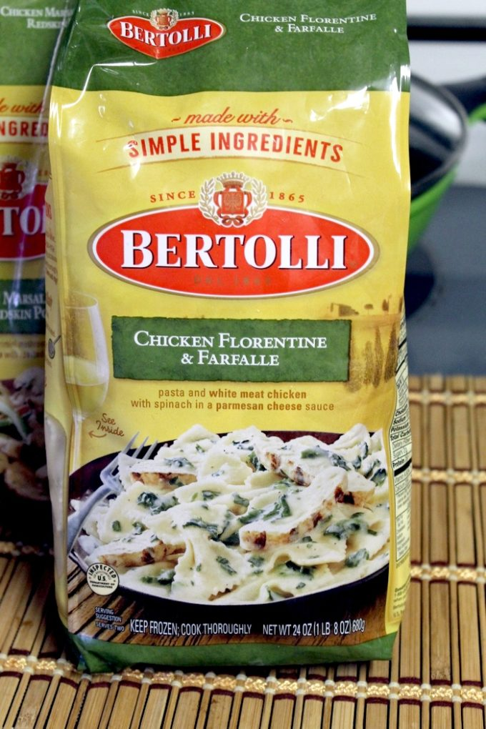 Bertolli Chicken Florentine in Bag Live Mangia: Eat Like an Italian without Spending Hours Cooking