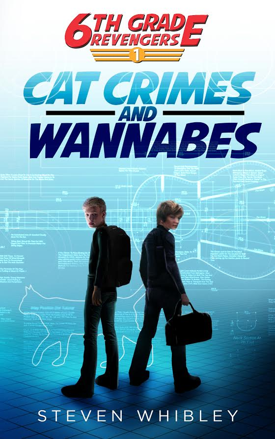 If your tween loves action, adventure and intrigue, he'll really love  6th Grade Revengers: Cat Crimes and Wannabes by  Steven Whibley! It's the perfect stocking stuffer for tweens.