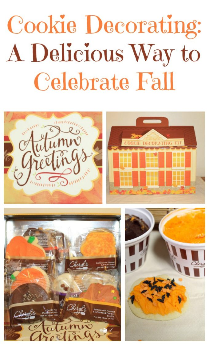 Looking for a delicious way to celebrate fall? Have a cookie decorating party!
