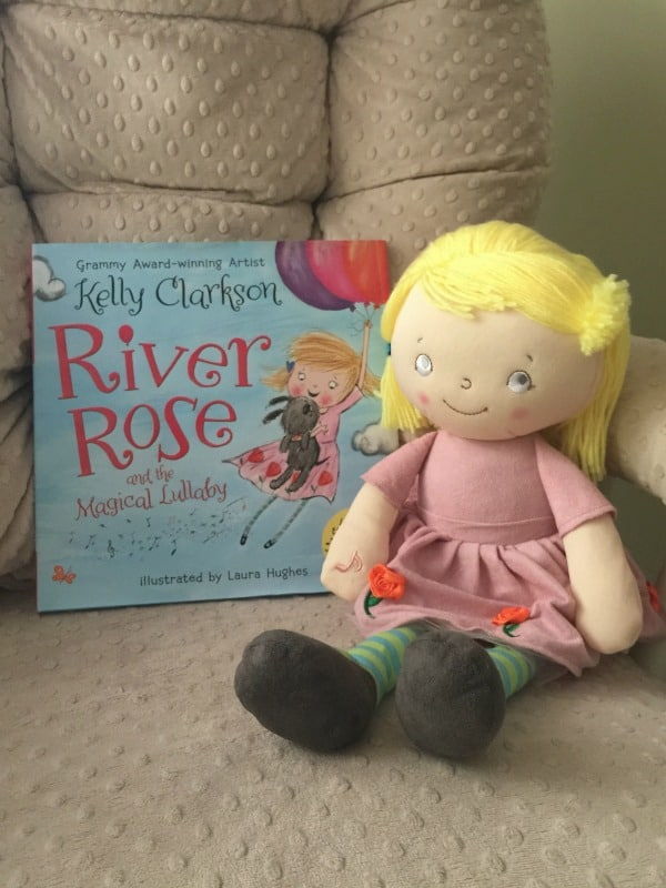 Kelly Clarkson wrote a children's book and it's just magical! Check out our review of River Rose and the Magical Lullaby, along with the insanely adorable singing lullaby River Rose doll!