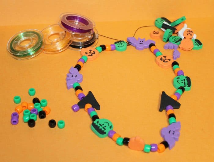 Spooky Necklaces A Fun Halloween Party Craft Idea For