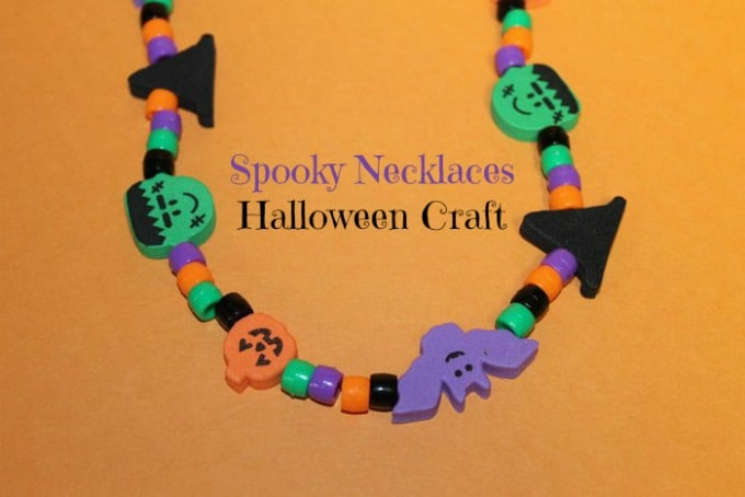 Spooky Necklaces: A Fun Halloween Party Craft Idea for Kids
