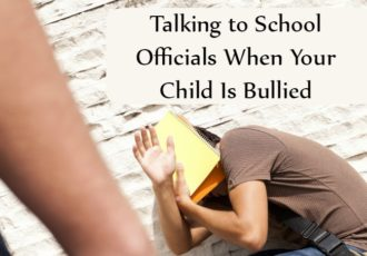 Learn tips for talking to school officials when your child is being bullied (and actually get a response)!