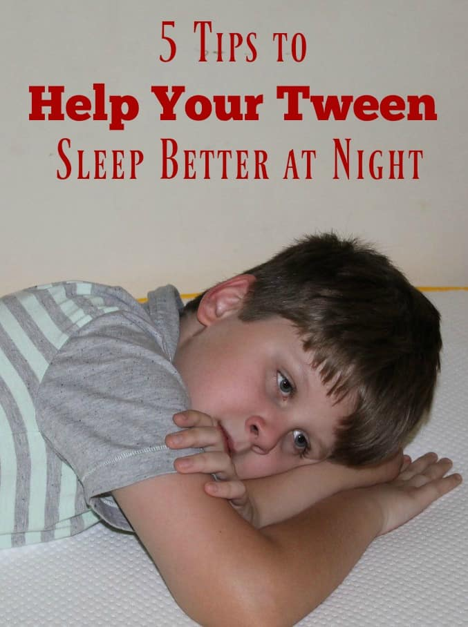 Help Your Tween Get a Better Night's Sleep During Stressful Middle School Years