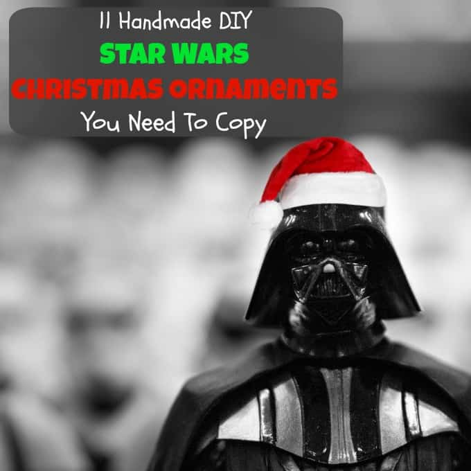 11 handmade diy star wars christmas ornaments you need to copy - What Do You Get A Wookie For Christmas