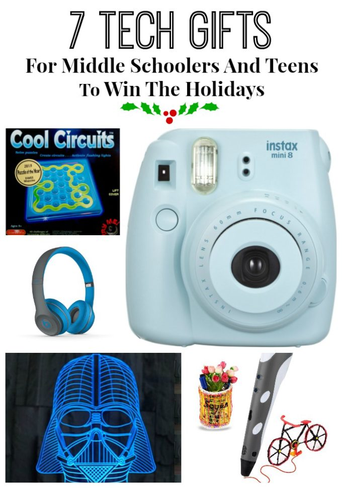 7 Tech Gifts For Middle Schoolers And Teens To Win The Holidays